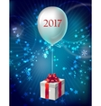 Gift Box Composition vector image