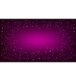 Purple space background vector image