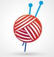 yarn icon vector image