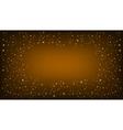 Orange Space background vector image