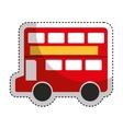 london bus classic icon vector image