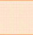 orange metric graph paper seamless pattern vector image