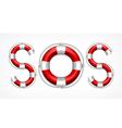SOS symbol vector image