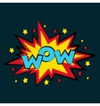 Comic sound effects in pop art style Sound vector image vector image