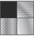 grey metal textures vector image