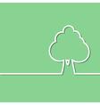tree green vector image vector image
