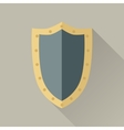 Game Object of Warrior Shield vector image