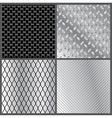 grey metal textures vector image