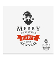 Christmas vintage for Christmas vector image
