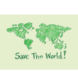 Globe earth icons themes idea design vector image vector image