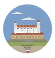 Bratislava Castle vector image