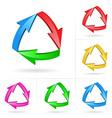arrow sketchy design elements vector image