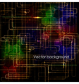 Abstract high technology computer business vector image