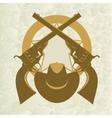 Sheriffs badge-4 vector image