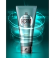 Realistic cosmetic skin lotion container vector image