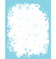 grunge Christmas border vector image vector image