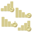 money chart vector image