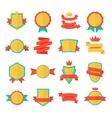 Badge emblem collection vector image