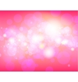 Pink festive background vector image