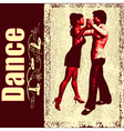 ballroom dance background vector image vector image