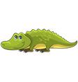 Crocodile Cartoon african wild animal character vector image