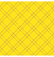 Yellow seamless mesh pattern vector image