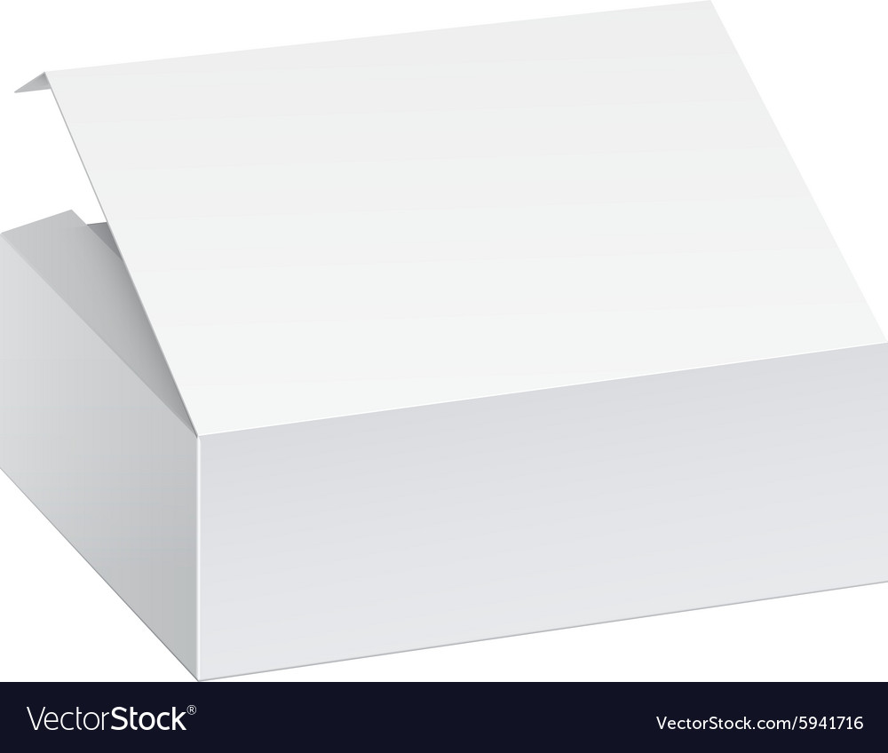 Package box for electronic device vector