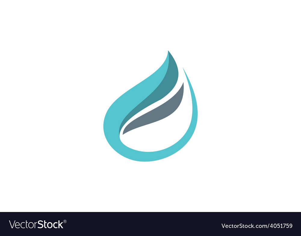 Business shape abstract logo vector