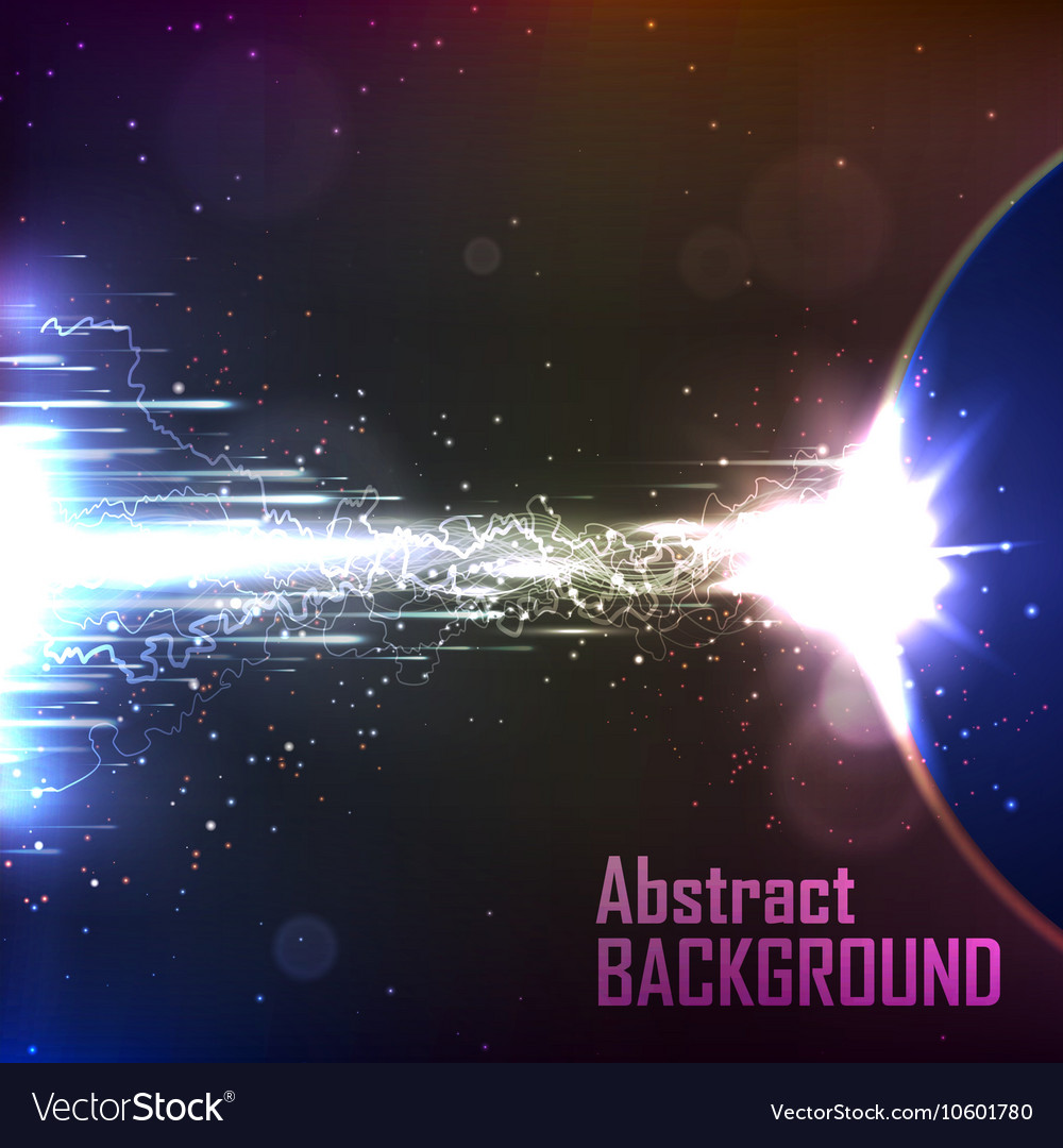 Cosmic background energy flow vector
