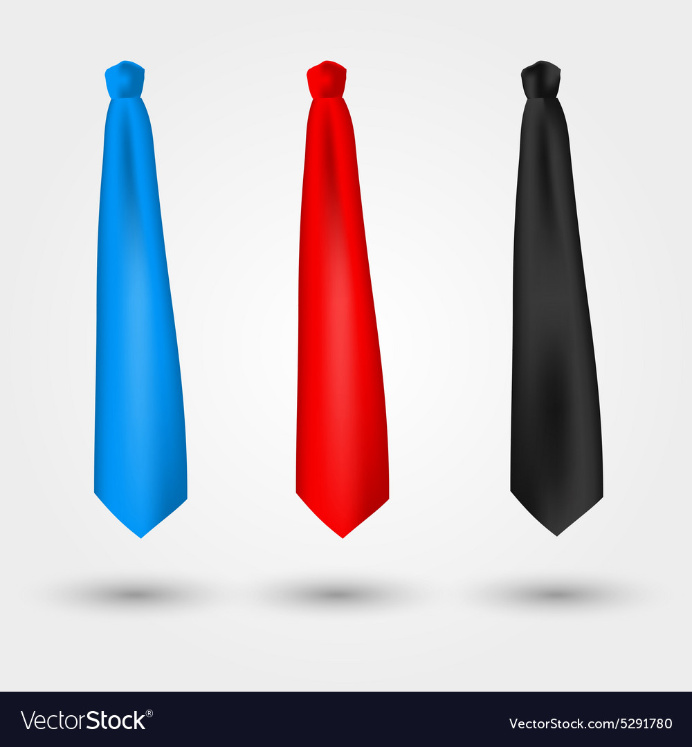 Set of ties vector
