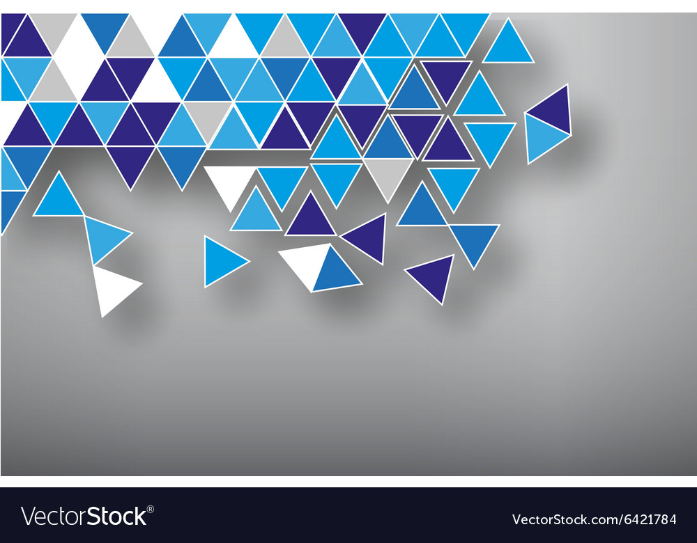 Abstract background broken mozaic vector
