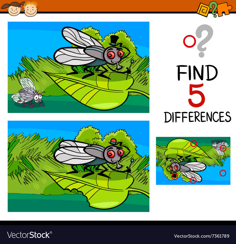 Differences task for child vector