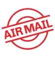 Air mail rubber stamp vector image vector image