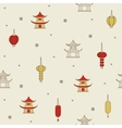 Chinese seamless background vector image