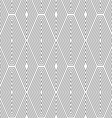Slim gray vertical diamonds with offset vector image