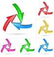 arrow design elements vector image