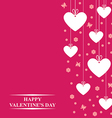 valentine tag2 vector image vector image