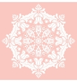 Elegant Ornament in the Style of Barogue vector image