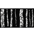 Birch tree black and white vector image
