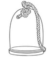 france glass cloche vector image