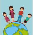 Family unity design vector image