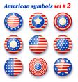 american symbols set2 vector image