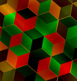 Fractal abstract square vector image
