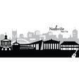 Nashville vector image