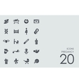 Set of pregancy icons vector image