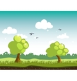 Game Background Forest vector image