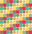 Colorful Geometry Pattern vector image