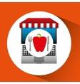 pepper online shopping app vector image
