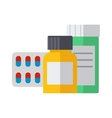 Pills isolated vector image