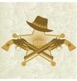 Sheriffs badge-2 vector image